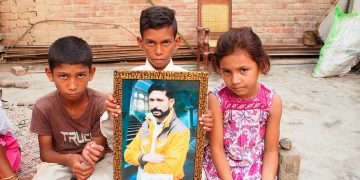 Indrayas Ghulam - Youhanabad - Victim of brutality of Pakistani Authorities